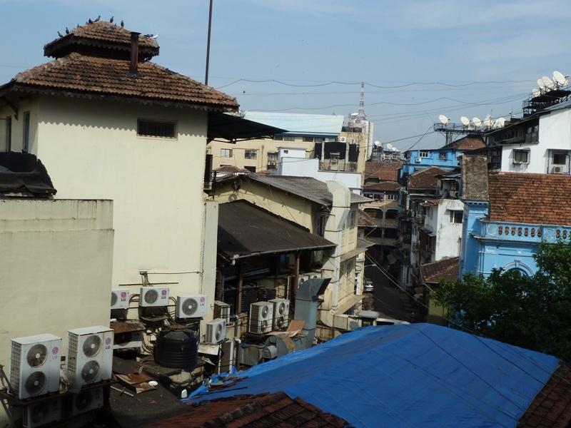 """Ausblick """"Lawrence Hotel"""", Mumbai"""