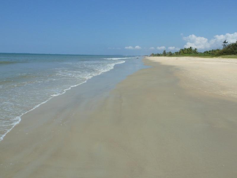 Varca Beach (Goa), weit und breit niemand....