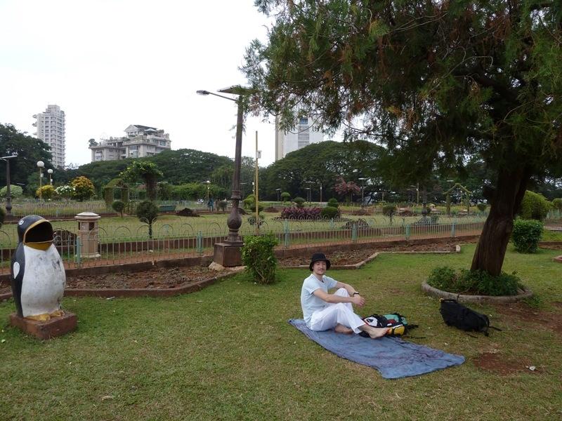 im Park in Mumbai