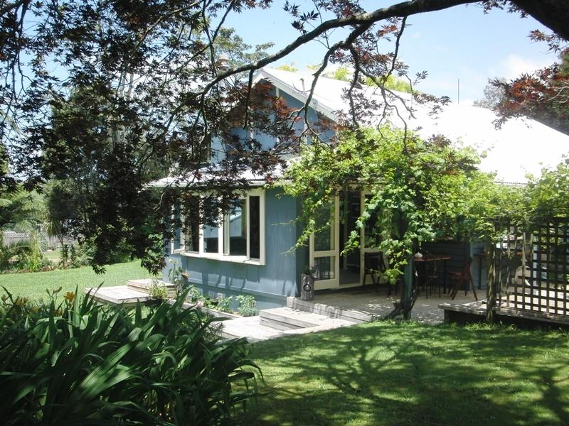 ...der beste Fruehstuecksplatz in ganz Neuseeland!