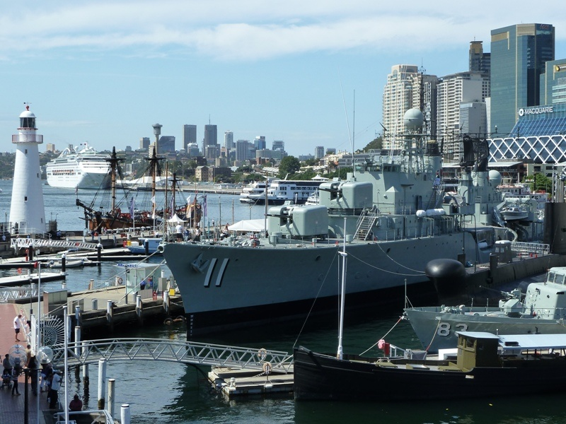 Museumsschiffe im Darling Harbour, Sydney