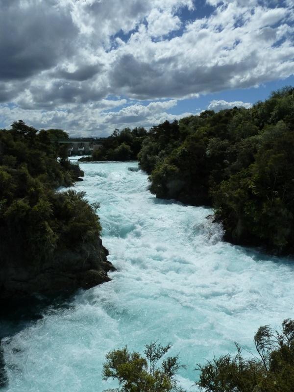 Aritiatia Rapids (oder so aehnlich), Stromschnelle bei Taupo