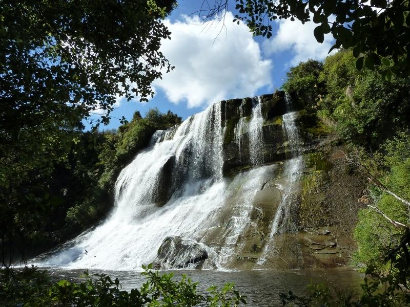 Perkito Falls (o.Ae.) nach dem Rudern