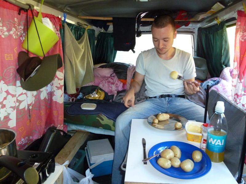 ...lustig ist das Camperleben :)