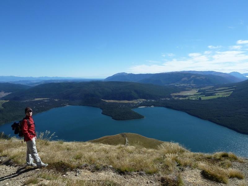 """Ausblick auf den """"Lake Rotoiti"""""""
