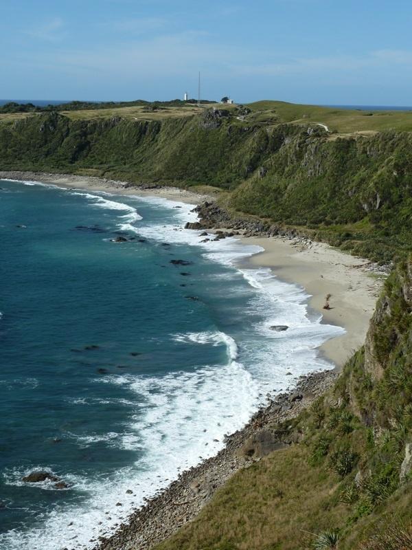 Coastal Walk zum Leuchtturm von Cape Foulwind