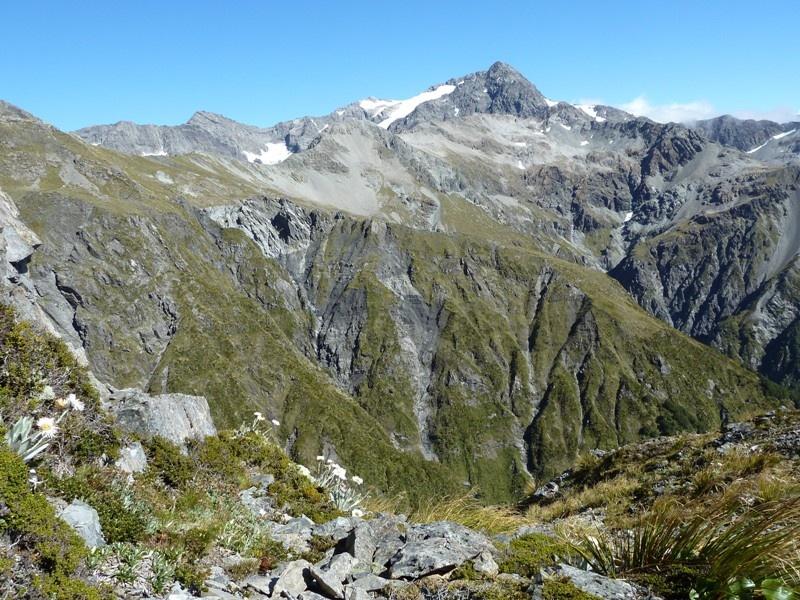 """Rundwanderweg auf den """"Mount Avalanche"""" bei bestem Wetter :-)"""