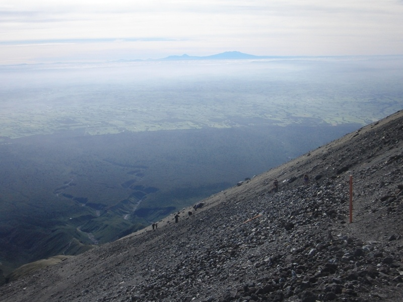 Magma-Geroellhalde