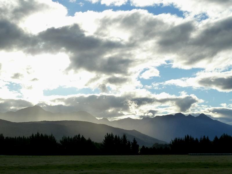 Eindruck unserer Fahrt nach Manapouri