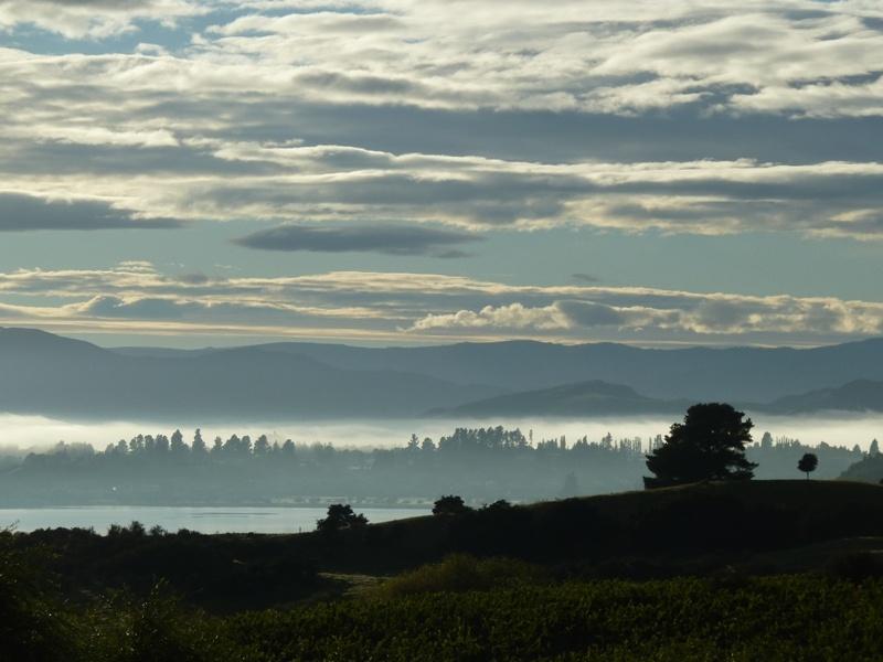 """...morgendliche Stimmung beim """"Lake Wanaka"""""""