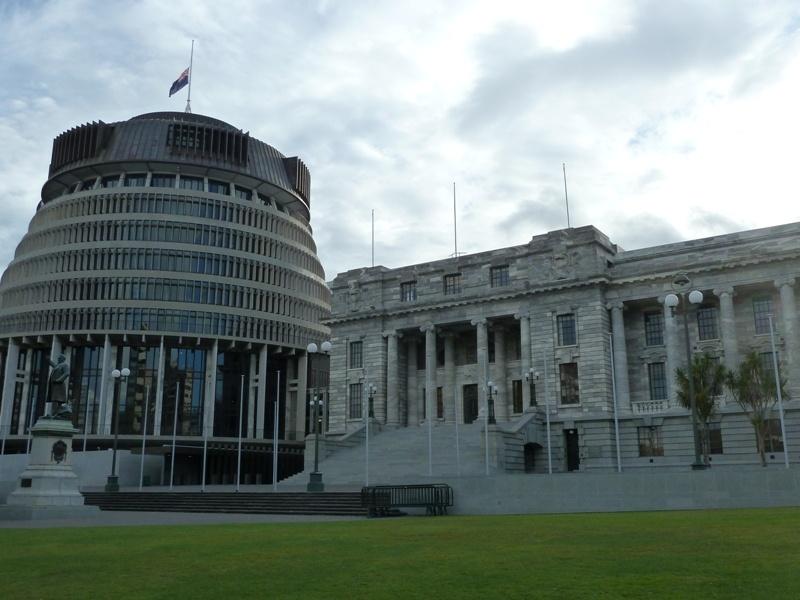 """""""Parliament Houses"""", Wellington"""