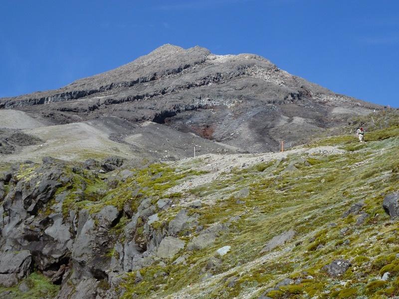 Am Weg zum Gipfel auf 2.500 Meter