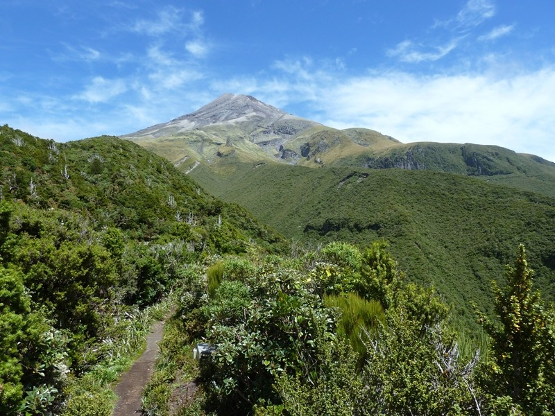 Blick von Julia's Tour auf den Gipfel