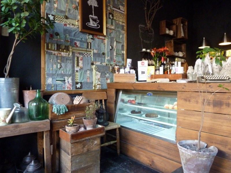 """Cafe """"Jardin"""" - alles im Garten-Style :)"""