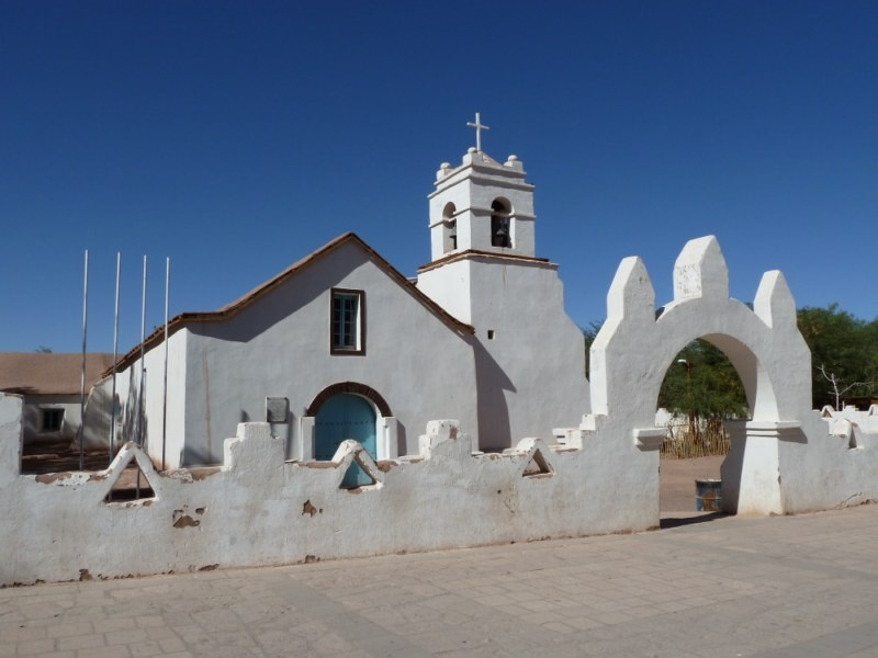 """Iglesia San Pedro"" aus dem 17. Jahrhundert"