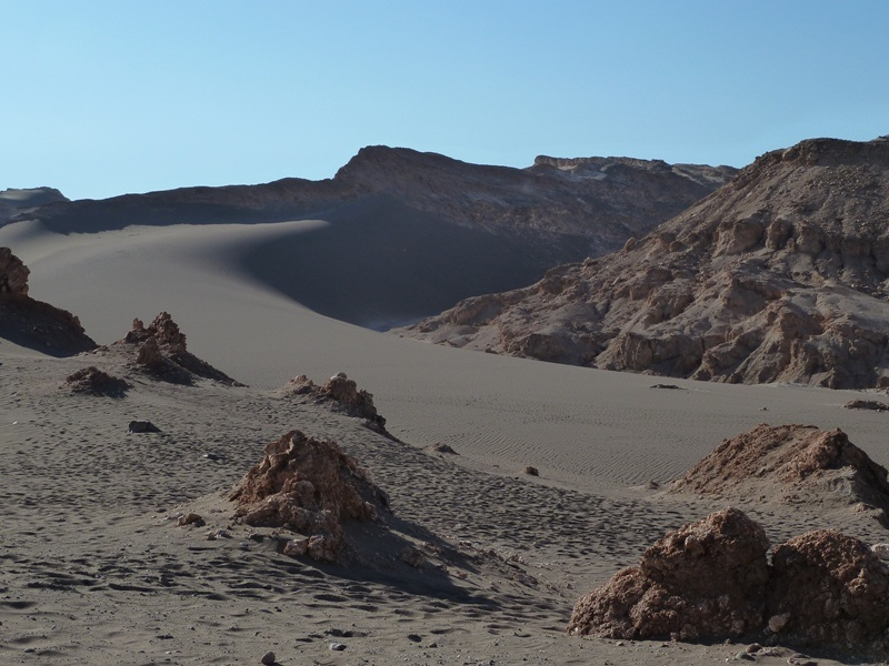 """""""Valle de la Luna"""" - am Weg zum Salzkristall-Cannyon"""