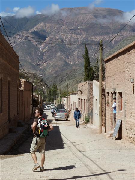 in den Strassen von Purmamarca